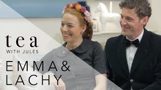 Tea With Jules - THE WIGGLES Couple Emma & Lachy Sit Down With Jules Sebastian
