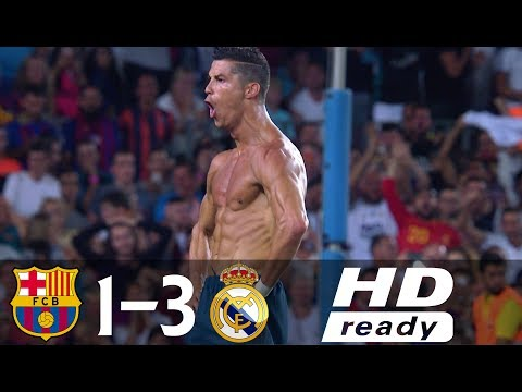 Barcelona vs Real Madrid 1-3 All Goals & Highlights (Spanish Super Cup 2017) thumbnail