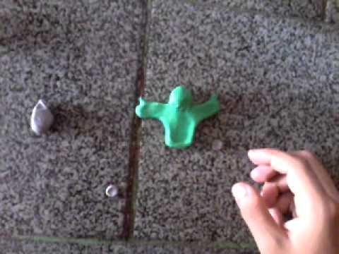 Como fazer um boneco com massa de modelar