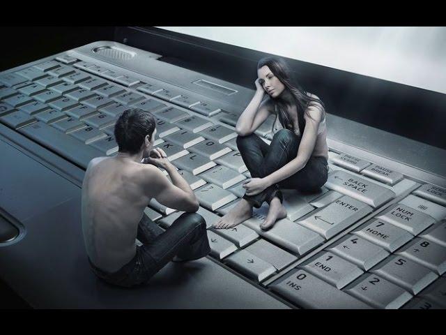 Скачать обои общение, виртуальность, клавиатура, ноутбук бесплатно для рабо