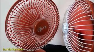Desk Fan double orange