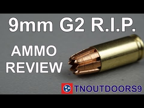 G2 Research R.I.P. 9mm Ammo Review