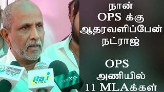 Mylapore M.L.A Natraj - OPS