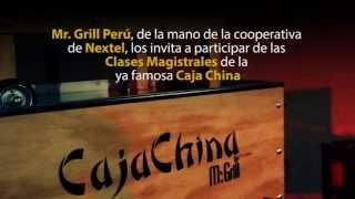 Caja China Mr. Grill - Clases Magistrales Nextel