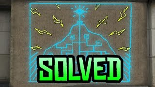 GTA 5 Easter Eggs - Mt Chiliad Mural Solved! (GTA 5 Mystery)