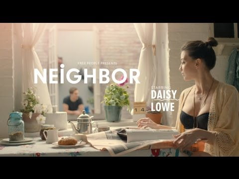 Free People Presents Neighbor featuring Daisy Lowe