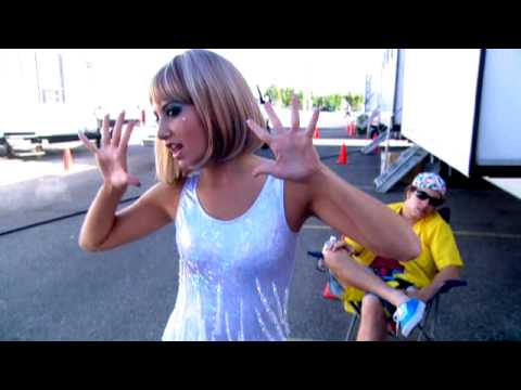 Ashley Tisdale - Pranking Zac on the HSM 3 Set