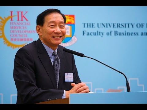 FSDC Forum - Life as a Banker, by Mr. Peter Wong Tung Shun, JP