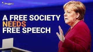 A Free Society Needs Free Speech