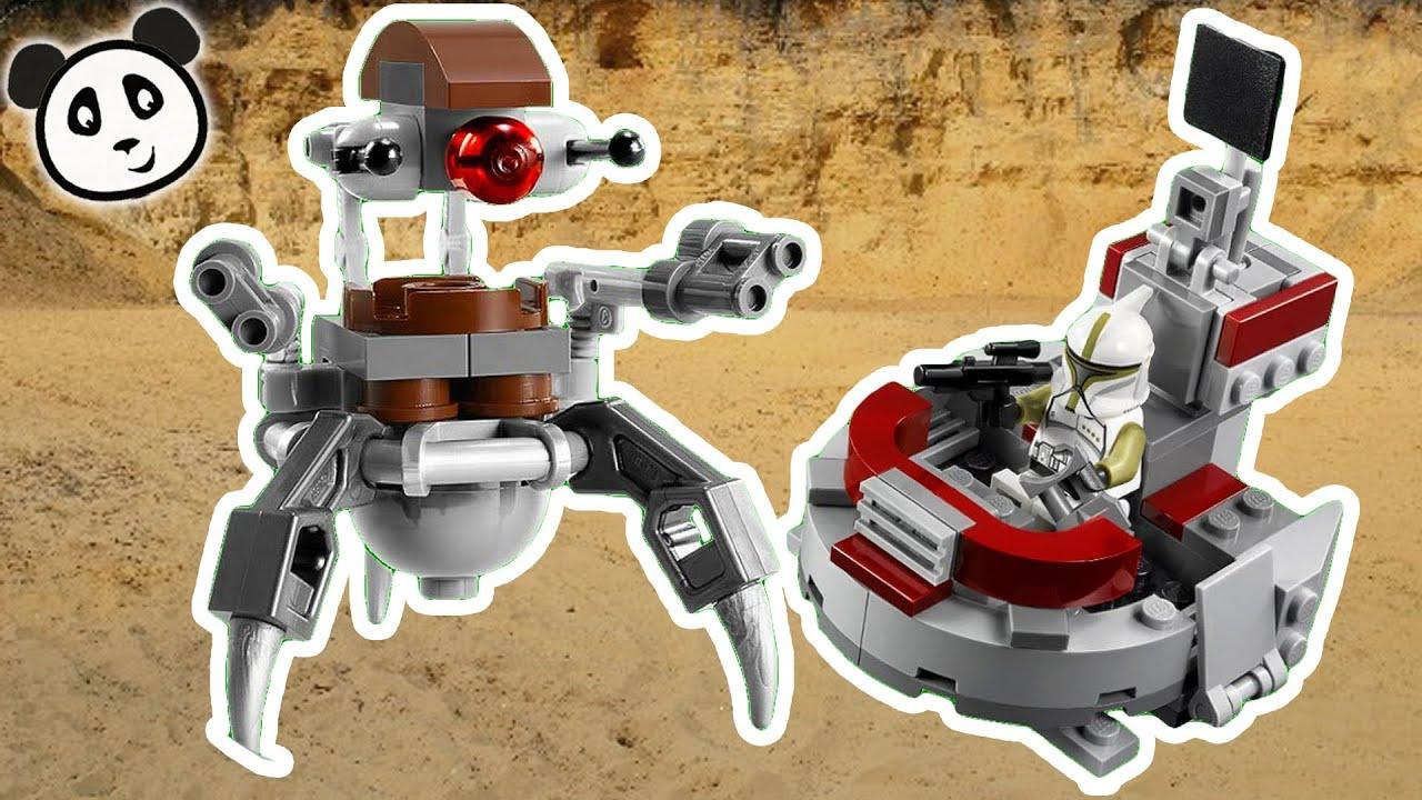 Lego Star Wars Clones vs Droidekas Lego Star Wars Deutsch Clone