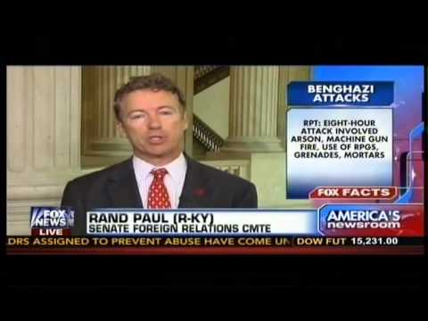 Rand Paul - Hillary Clinton's Fingerprints Are All Over Benghazi Talking Points