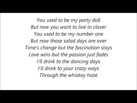 Mick Jagger - Party Doll Lyrics on Screen