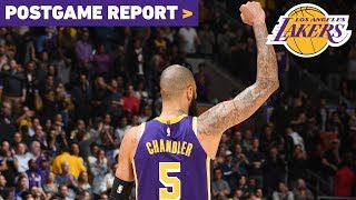 Postgame Report: Four Lakers Score 20+ In Win Over Minnesota
