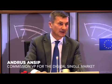 EU Commission VP Andrus Ansip agrees to hold an online hearing