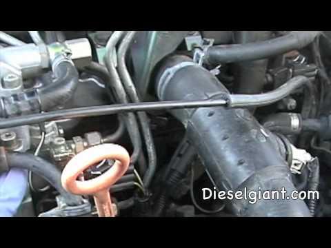 VW Jetta Tdi IP Seal R&R part 1