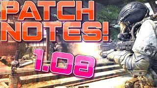 1.08 PATCH NOTES for COD BO4! (New Call of Duty Black Ops 4 Update)