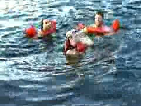 Backstreet Boys swimming in brazil water intro T1