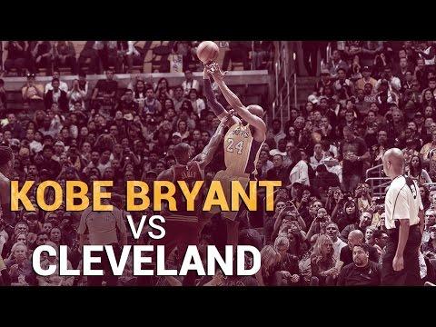 Kobe Bryant Vs. Cleveland Cavaliers