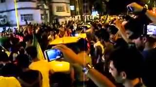 World Cup qualifying celebrations in Golsar, Rasht June 18, 2013
