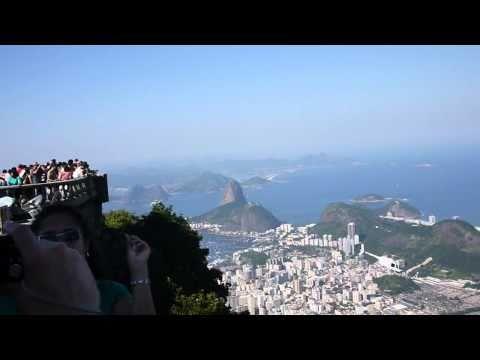 Helicopter flyover, Christ Statue, Rio De Janeiro