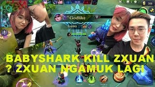 [MPL MY/SG ] Zxuan vs BabyShark Match 1 ! Zxuan Kalah lawan Shelintsu ??