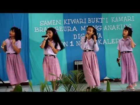 """"""" Terimakasih Guruku"""" - Sabrina & Friends ( LIVE at PGSD )"""