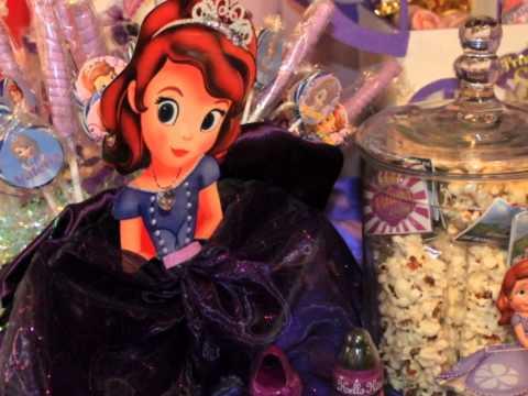fiesta de princesa sofia
