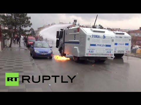 RAW: Clashes in Turkey on anniversary of teen's death in Gezi park protests