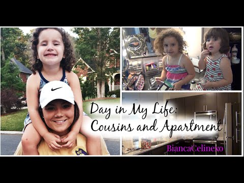 Day in my life #3 | Cousins and a look at my Mom's APARTMENT♡