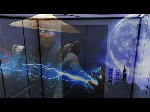 Мортал Комбат в лифте (прикол!!)