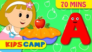 A is Apple Pie | ABC Songs for Children | Nursery Rhymes Collection for Children by KidsCamp