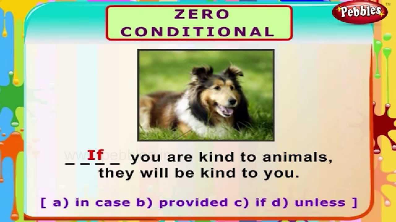 Zero conditional english grammar exercises for kids english grammar for children youtube