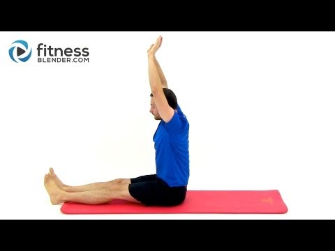 Pilates Infused Cool Down and Stretch Workout to Tone and Lengthen