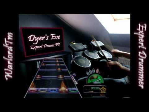 Metallica - Dyer's Eve Expert Drums | 100% FC, Global 1st place (Guitar Hero: Metallica)