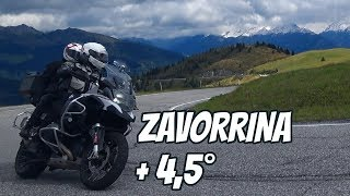 ZAVORRINA + 4,5° | BMW R 1200 GS ADVENTURE 2017