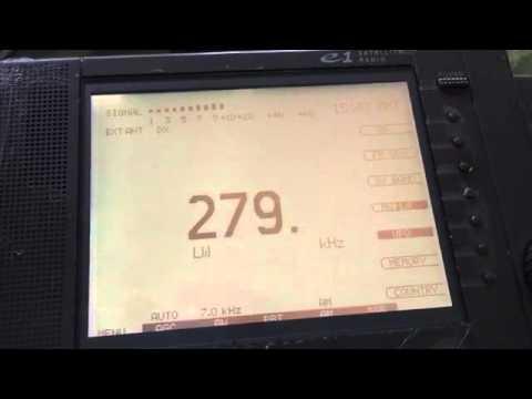 Turkmenistan Radio 279 kHz received in Romania