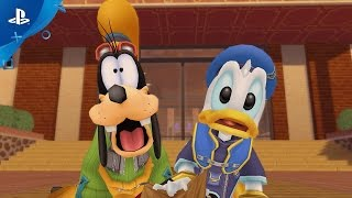 KINGDOM HEARTS HD 1.5 + 2.5 Remix - Familiar Faces and Places | PS4