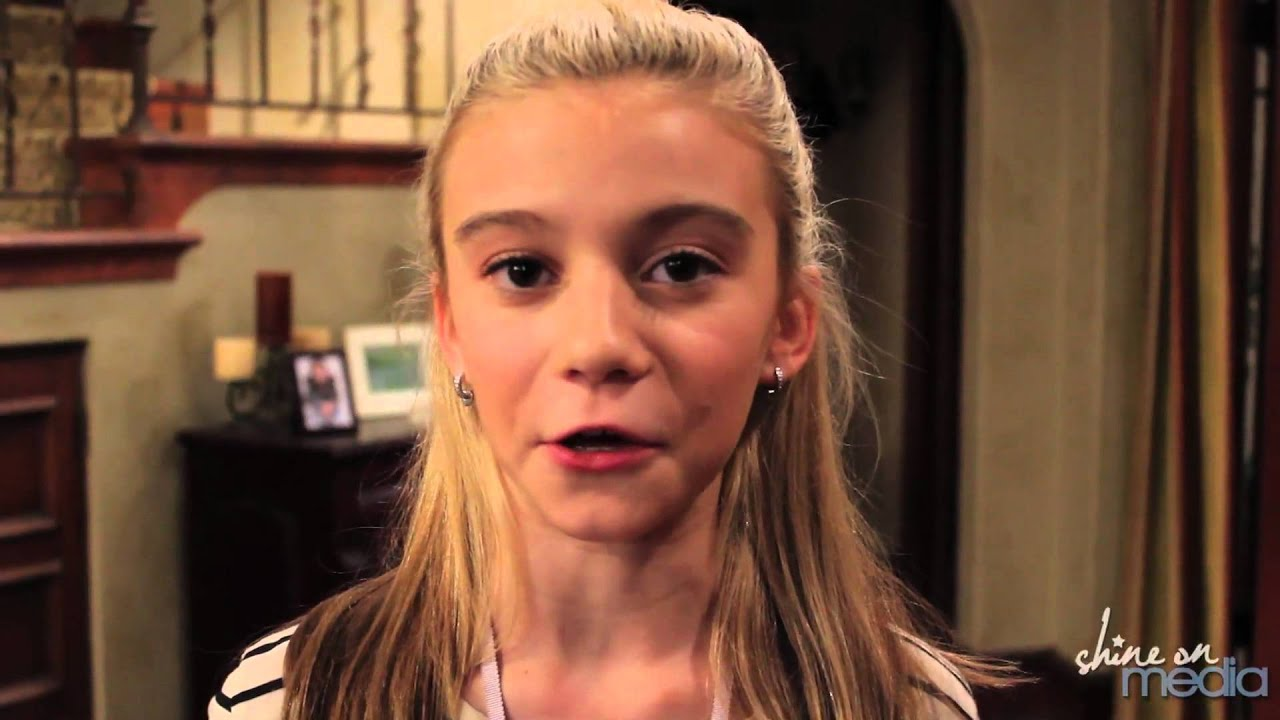 G. Hannelius Interview - Dog With A Blog - YouTube