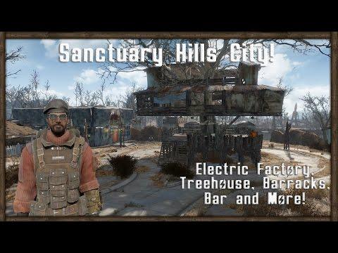 WORLD'S BIGGEST SANCTUARY CITY - Fallout 4 Base Building Showcase