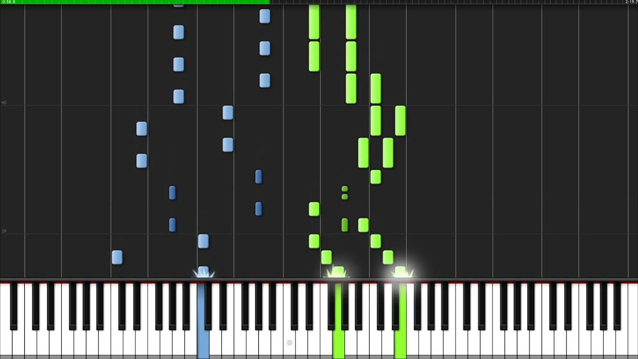 Tetris Theme - Korobeiniki [Piano Tutorial] (Synthesia ...