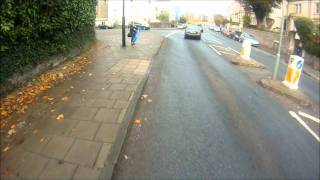 Failed over take Redland Road, Bristol BV56 ZZB, 31 10 2011