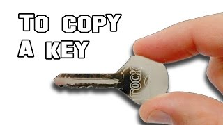 ✔ How To Copy A Key In Seconds