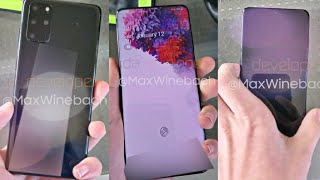 Samsung Galaxy S20 Plus LIVE Hands On Video!!!