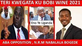 Hon Muwanga Kivumbi, Hon Allan Ssewanyana  Aba N.R.M Naba Opposition Abalala  Kunsonga Yokwegata
