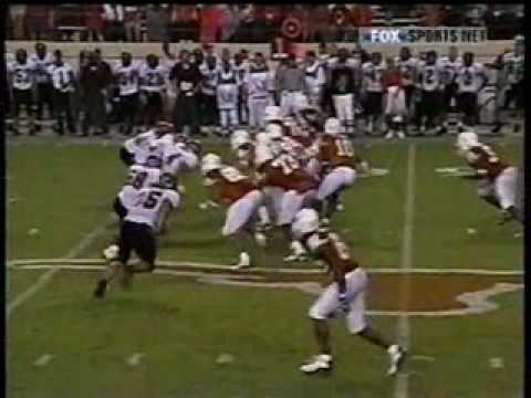 Vince Young's College Debut Video