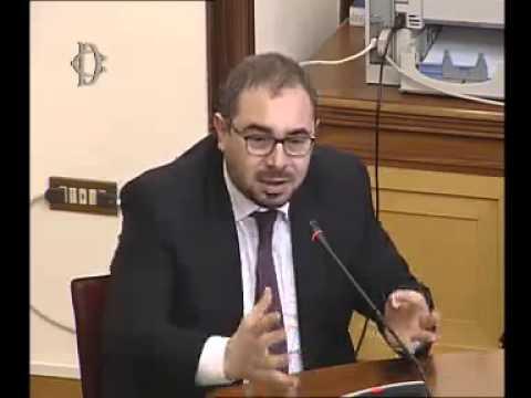 Roma - Abolizione finanziamento editoria, audizione Travaglio (03.12.14)