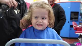 Penny & Grayson FIRST HAIRCUT VLOG 1012