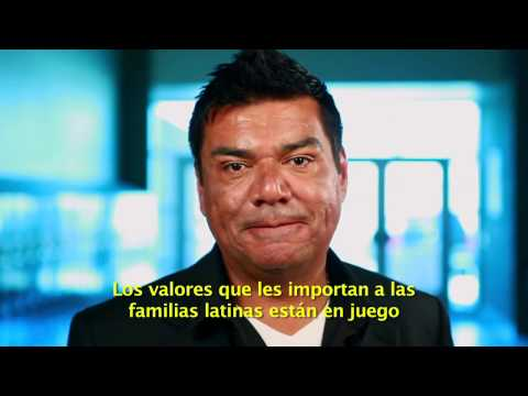 George Lopez  Join Latinos for Obama and Register to Vote   with Spanish Subtitles