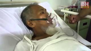 Azmil Mustapha masuk hospital akibat sesak nafas