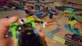Thomas and friends review episode 14 trackmaster hyper glow thomas